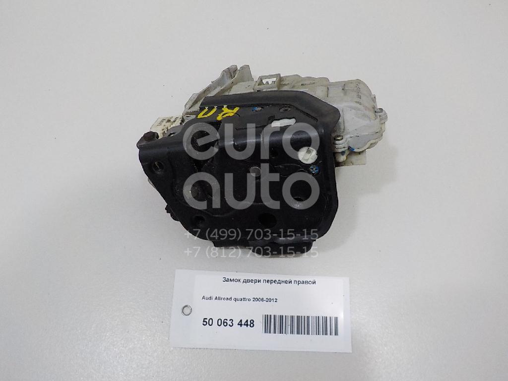 Замок двери передней правой для Audi Allroad quattro 2005-2012 - Фото №1