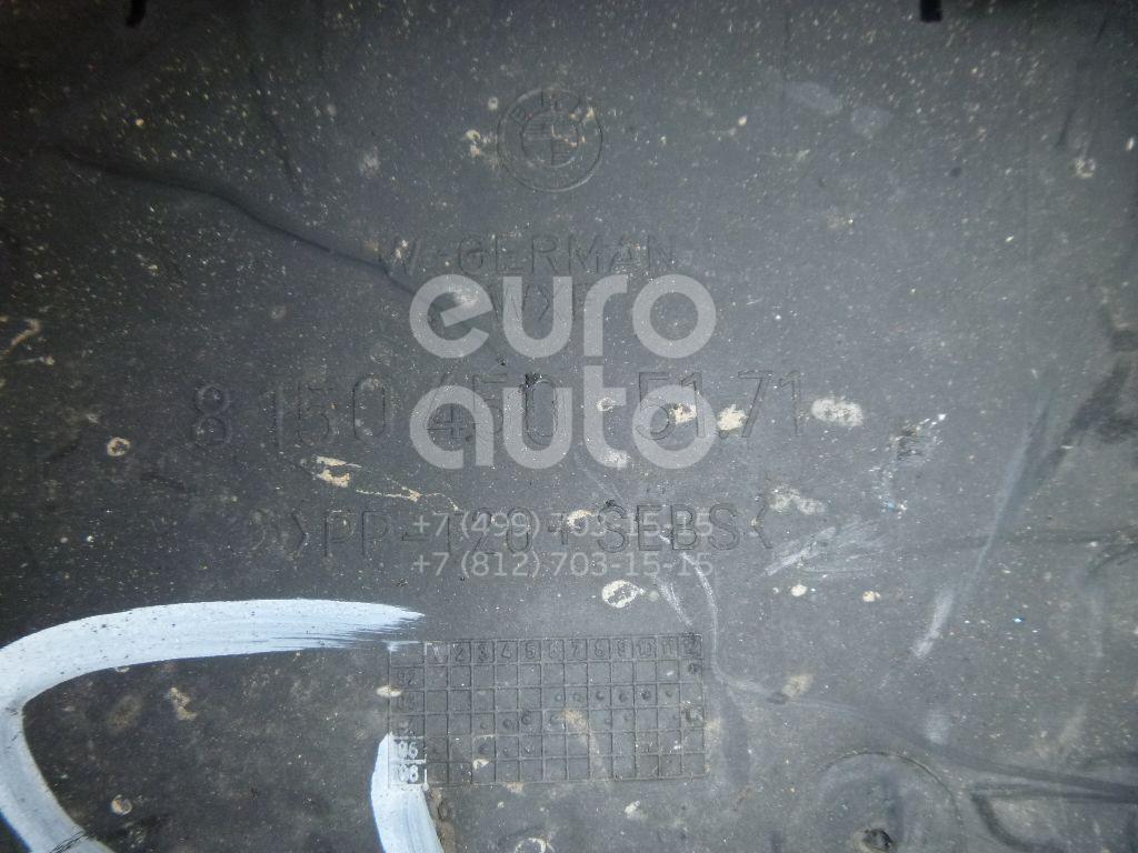 Пыльник двигателя нижний правый для BMW 7-серия E38 1994-2001 - Фото №1
