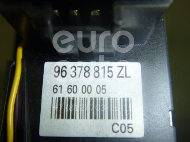 Переключатель поворотов подрулевой для Peugeot 607 2000-2010 - Фото №1