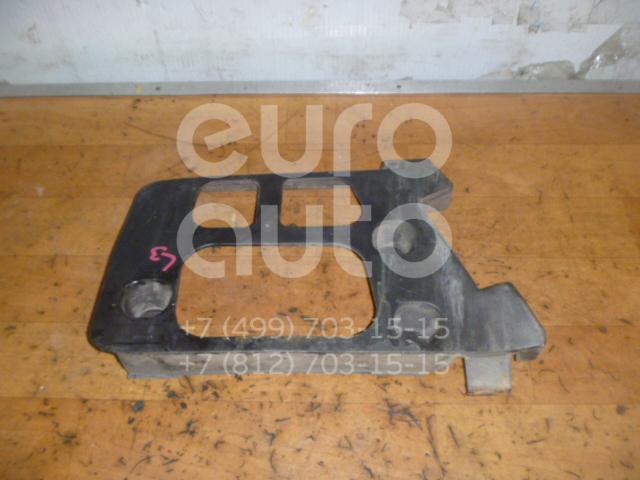 Направляющая заднего бампера левая для Peugeot 407 2004-2010 - Фото №1
