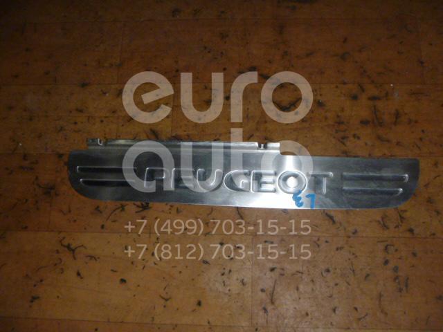 Накладка порога (внутренняя) для Peugeot 407 2004-2010 - Фото №1