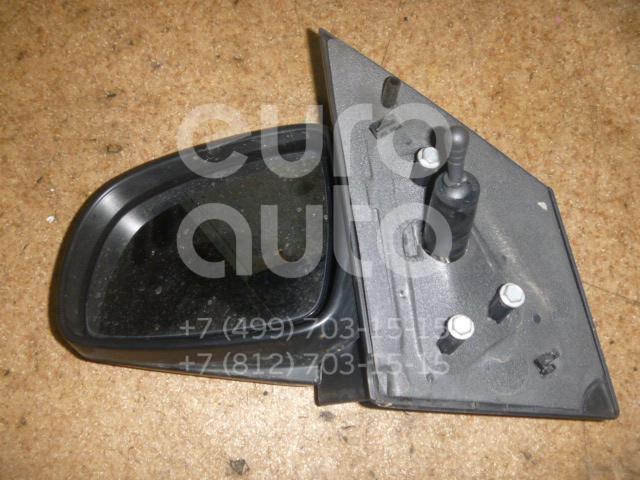 Зеркало левое механическое для Nissan Note (E11) 2006-2013 - Фото №1