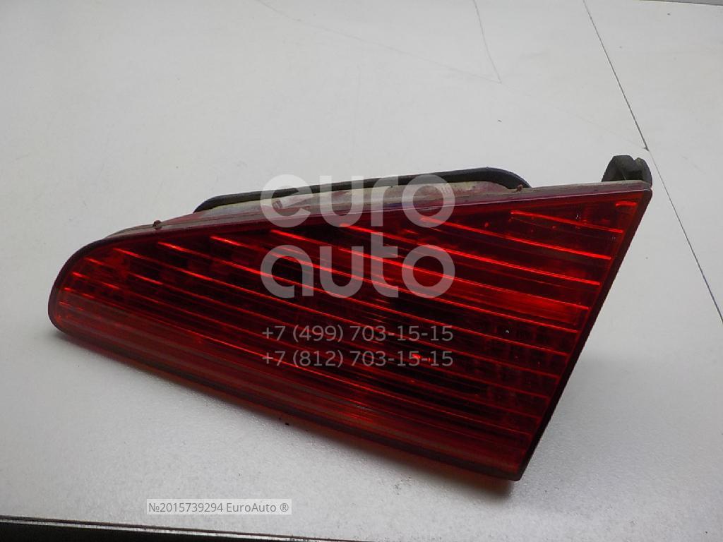 Фонарь задний внутренний правый для Peugeot 607 2000-2010 - Фото №1