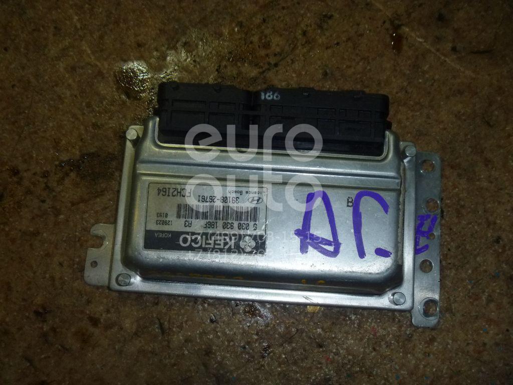 Блок управления двигателем для Hyundai Matrix 2001-2010 - Фото №1