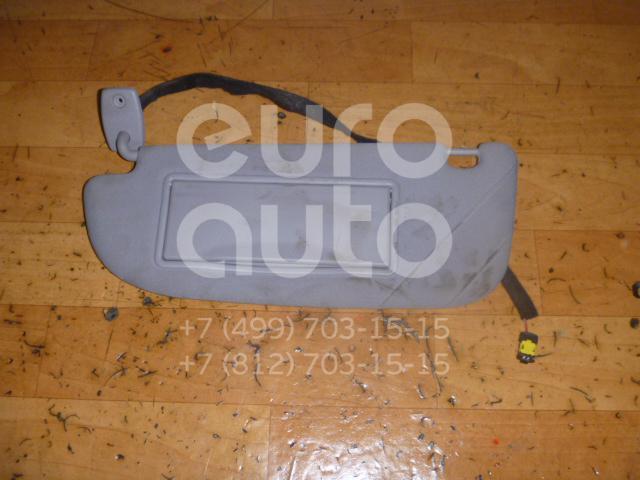 Козырек солнцезащитный (внутри) для Peugeot 607 2000-2010 - Фото №1
