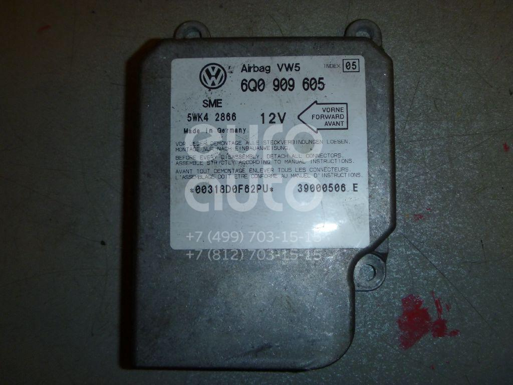 Блок управления AIR BAG для VW Sharan 2000-2006;Golf IV/Bora 1997-2005 - Фото №1