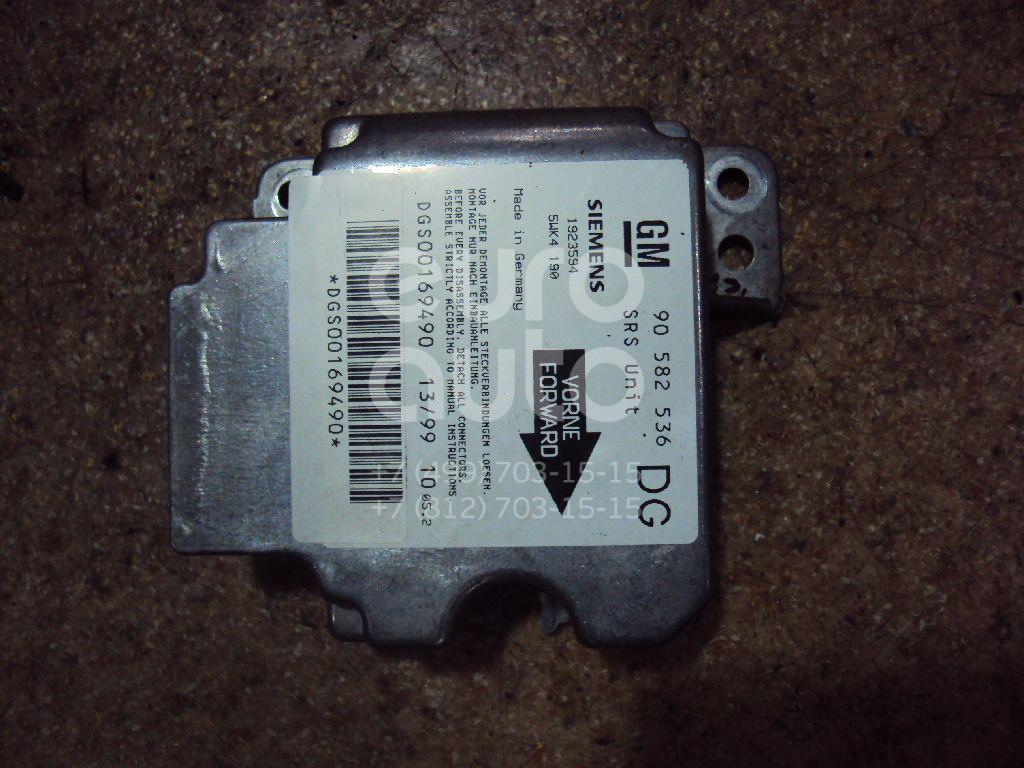 Блок управления AIR BAG для Opel Zafira A (F75) 1999-2005;Astra G 1998-2005 - Фото №1