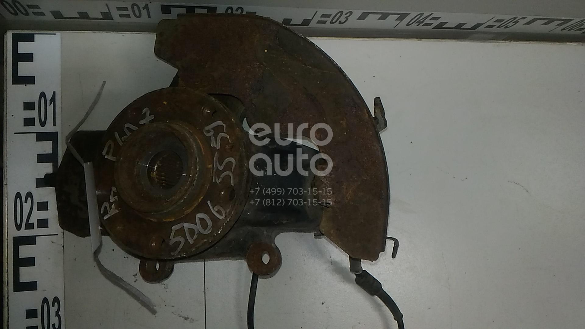 Кулак поворотный передний правый для Peugeot 607 2000-2010 - Фото №1