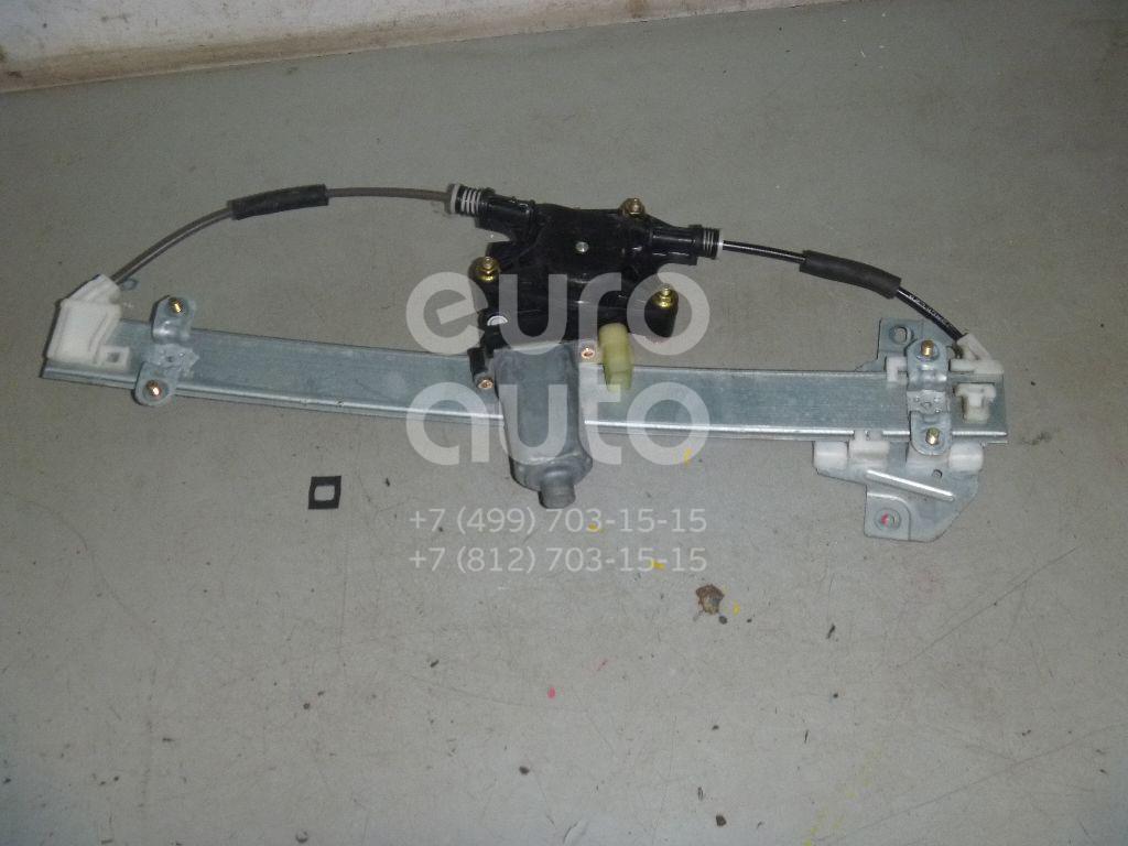 Стеклоподъемник электр. задний левый для Kia,Hyundai RIO 2005-2011;Verna/Accent III 2006-2010 - Фото №1