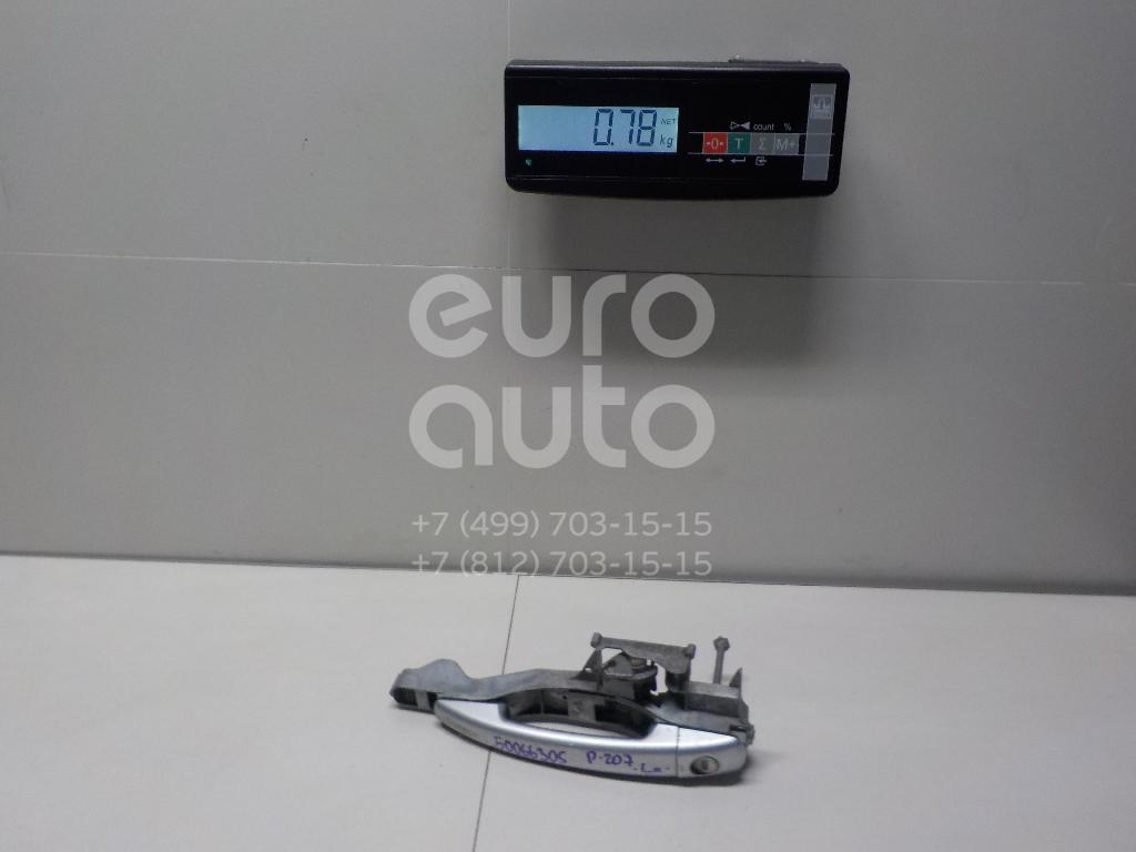 Ручка двери передней наружная левая для Peugeot 207 2006-2013 - Фото №1