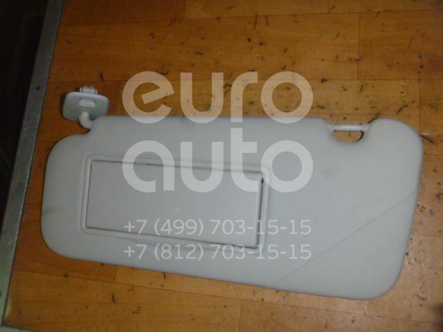 Козырек солнцезащитный (внутри) для Peugeot 407 2004-2010 - Фото №1