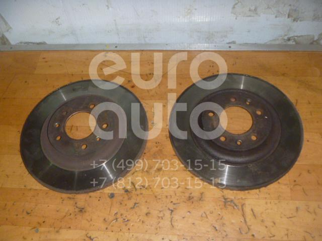 Диск тормозной задний для Peugeot,Citroen 407 2004-2010;607 2000-2010;C5 2008>;RCZ 2010-2014 - Фото №1