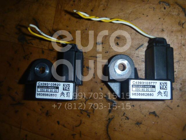 Датчик AIR BAG для Peugeot 407 2004>;C5 2005-2008;406 1999-2004;206 1998>;Xsara Picasso 1999>;Berlingo(FIRST) (M59) 2002-2010;C6 2006>;Partner (M59) 2002-2010 - Фото №1