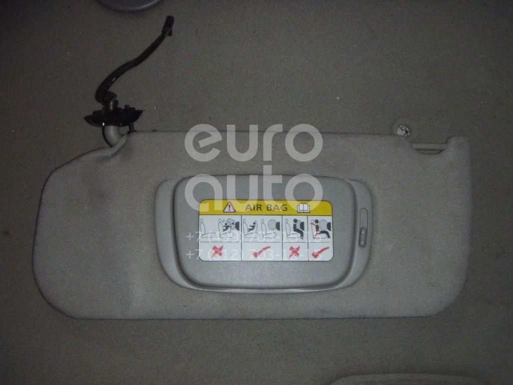Козырек солнцезащитный (внутри) для Jaguar S-TYPE 1999-2008 - Фото №1