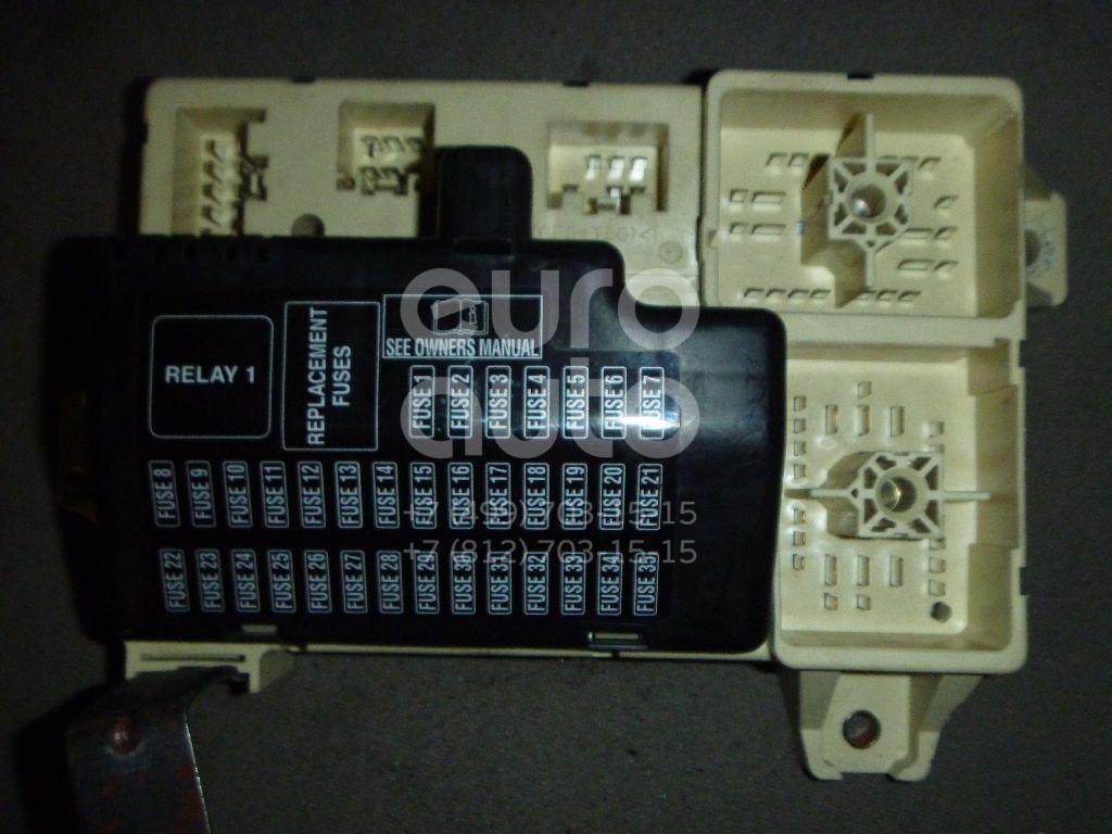 Блок предохранителей для Jaguar S-TYPE 1999-2008 - Фото №1