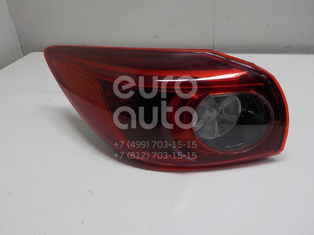 Купить Фонарь задний наружный левый Mazda Mazda 3 (BN) 2017-; (BLE951160A)