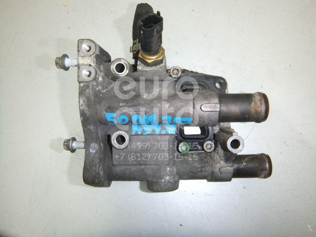 Корпус термостата для Opel Astra H / Family 2004>;Astra G 1998-2005;Zafira (F75) 1999-2005 - Фото №1