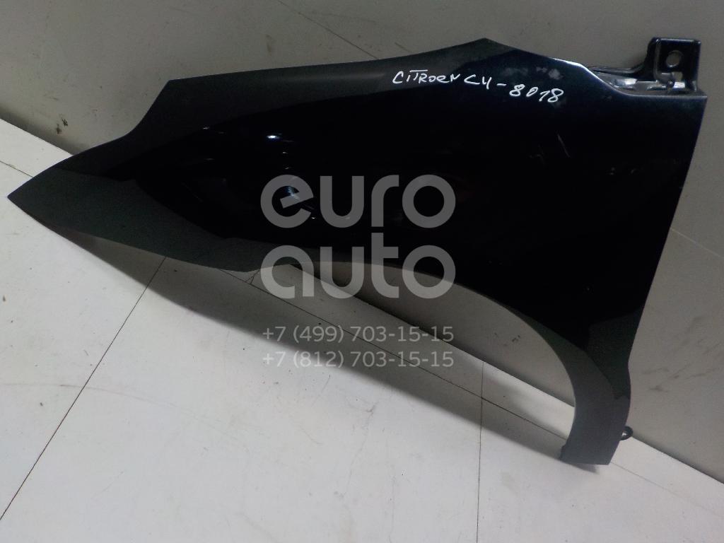 Крыло переднее левое Citroen C4 2005-2011; (7840Q3)  - купить со скидкой