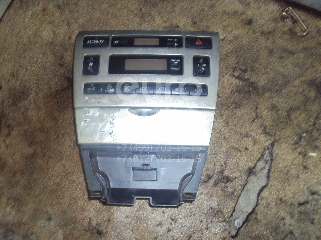 Блок управления климатической установкой для Toyota Corolla E12 2001-2006 - Фото №1