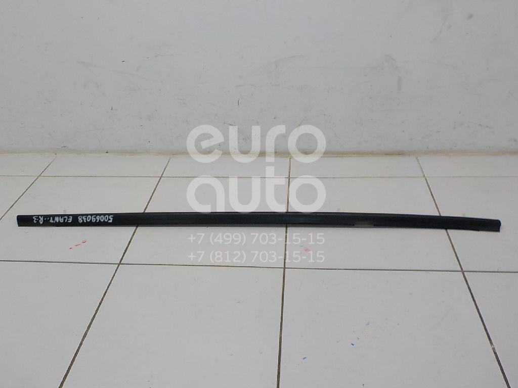 Накладка стекла заднего правого для Hyundai Elantra 2000-2005 - Фото №1