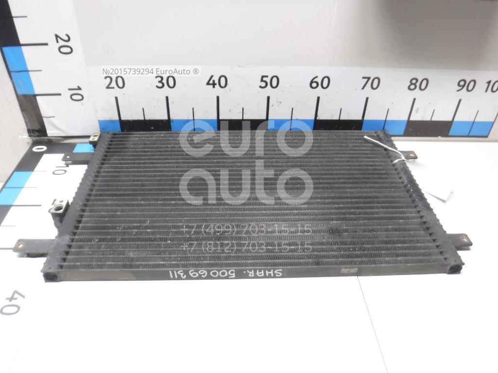 Радиатор кондиционера (конденсер) для VW,Seat,Ford Sharan 1995-1999;Alhambra 1996-2000;Galaxy 1995-2006 - Фото №1
