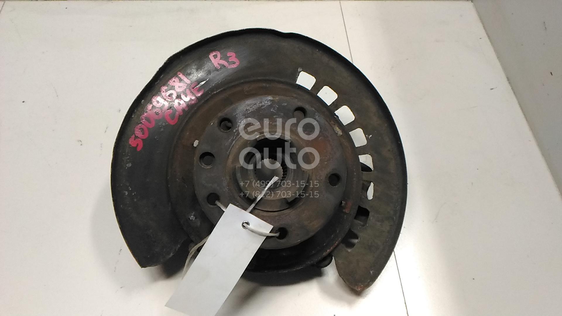 Кулак поворотный задний правый для Porsche Cayenne 2003-2010;Touareg 2002-2010 - Фото №1