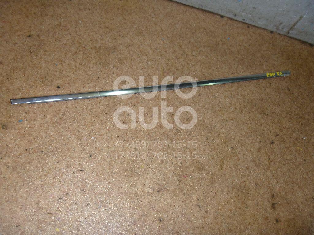 Накладка стекла переднего правого для BMW 5-серия E60/E61 2003-2009 - Фото №1