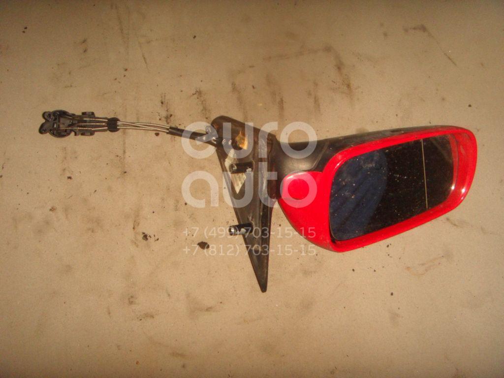 Зеркало левое механическое для Skoda Octavia 1997-2000 - Фото №1
