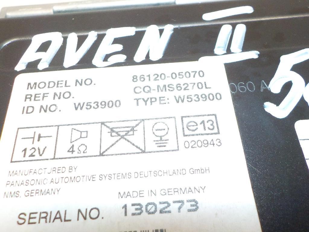 Магнитола для Toyota Avensis II 2003-2008 - Фото №1
