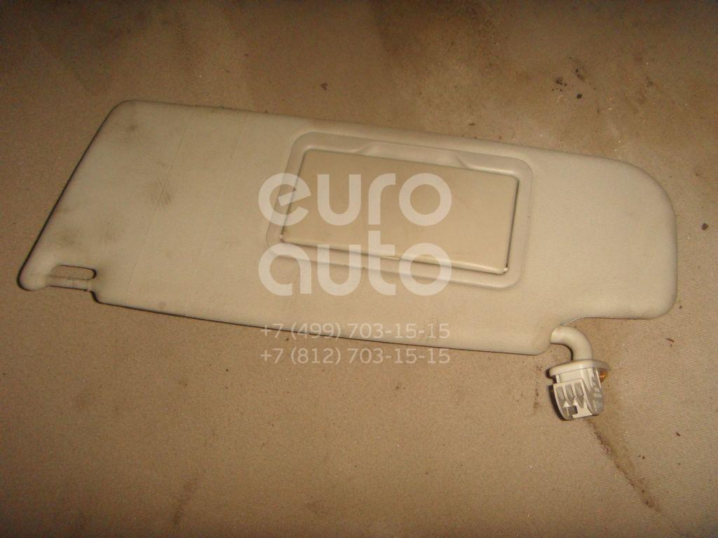 Козырек солнцезащитный (внутри) для Skoda Octavia 1997-2000 - Фото №1