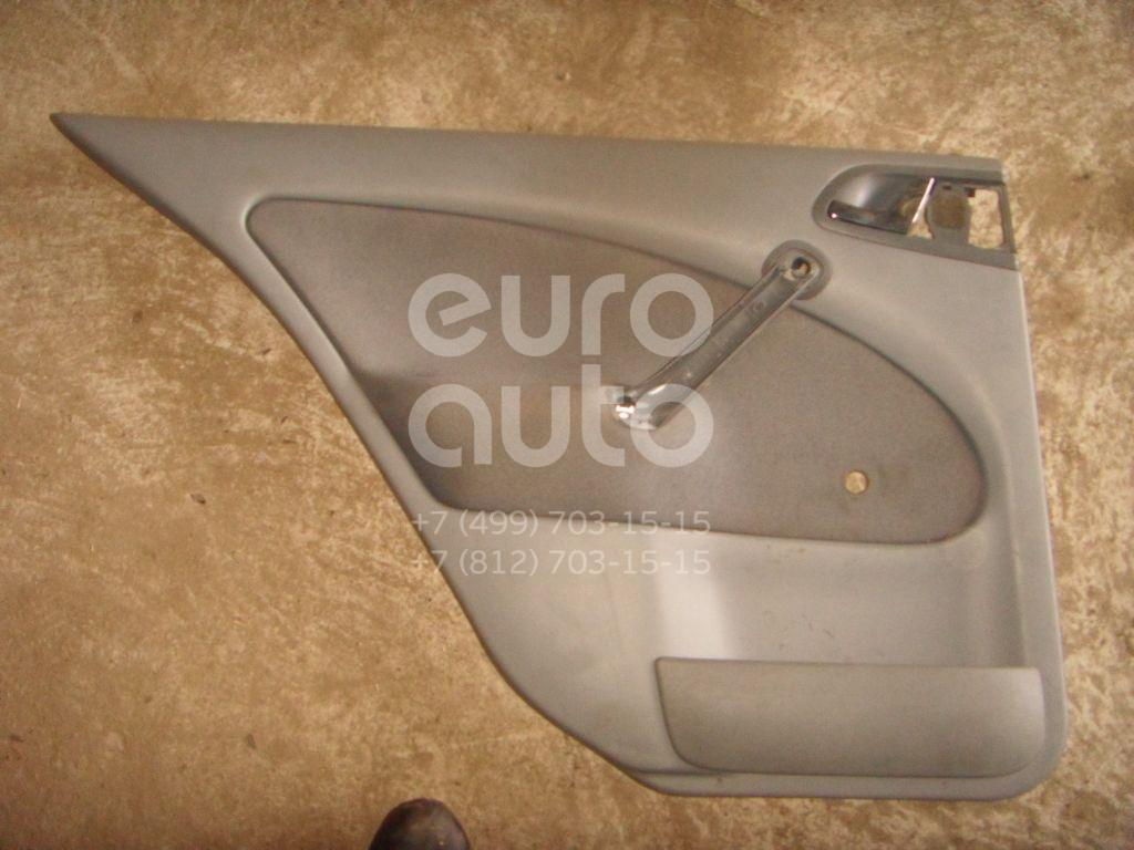 Обшивка двери задней левой для Skoda Octavia 1997-2000 - Фото №1
