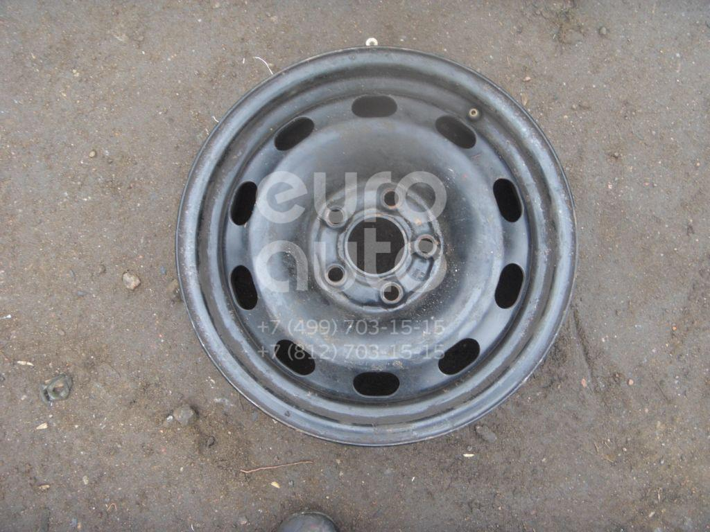 Диск колесный железо для VW Octavia 1997-2000;Octavia (A4 1U-) 2000-2011;Golf IV/Bora 1997-2005 - Фото №1