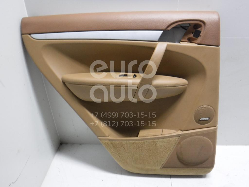 Обшивка двери задней левой для Porsche Cayenne 2003-2010 - Фото №1