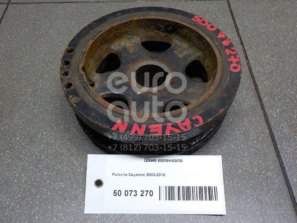 Шкив коленвала для Porsche Cayenne 2003-2010 - Фото №1
