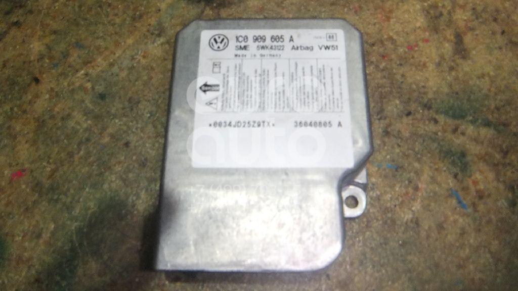 Блок управления AIR BAG для VW Transporter T5 2003-2015;Golf IV/Bora 1997-2005;New Beetle 1998-2010;Lupo 1998-2005 - Фото №1