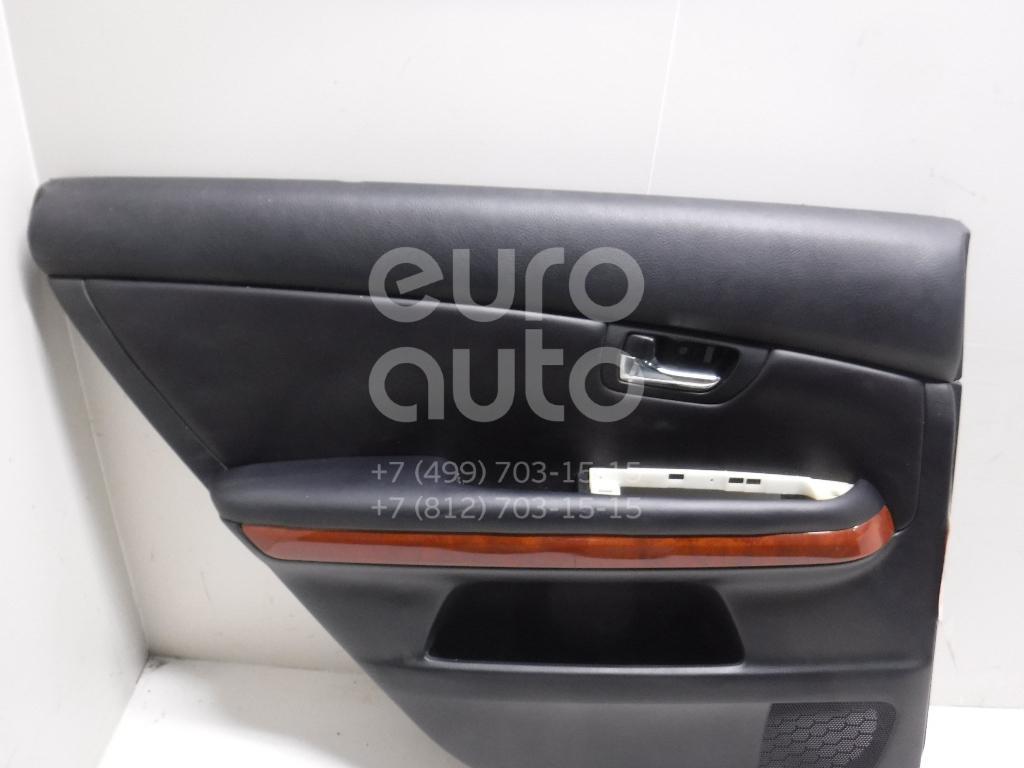 Обшивка двери задней левой для Lexus RX 300/330/350/400h 2003-2009 - Фото №1