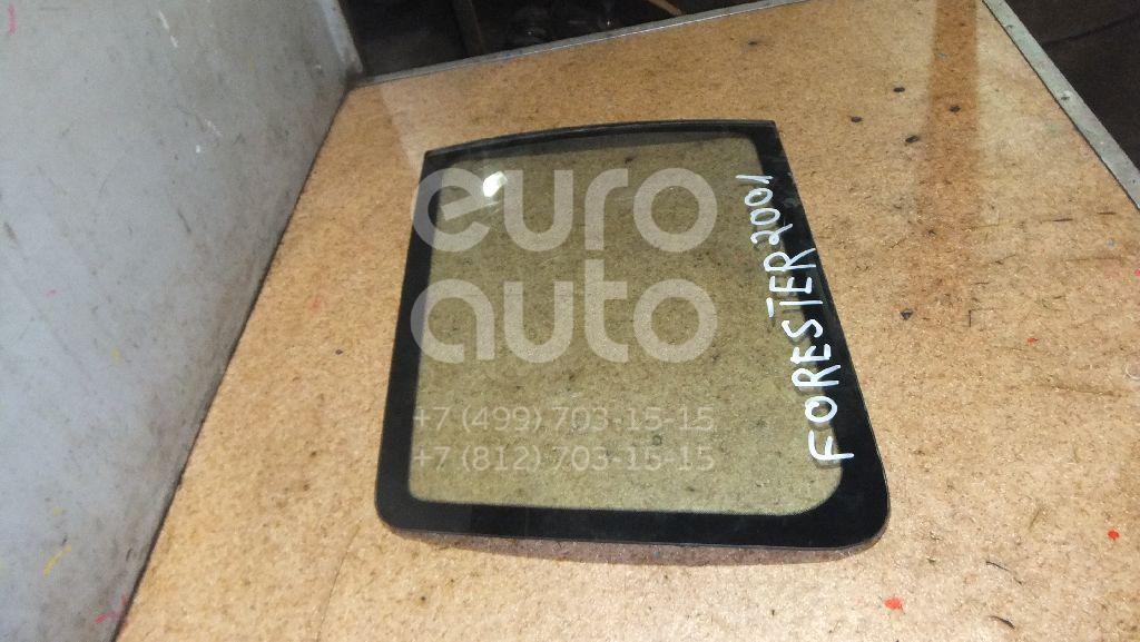 Стекло кузовное глухое правое для Subaru Forester (S10) 2000-2002 - Фото №1