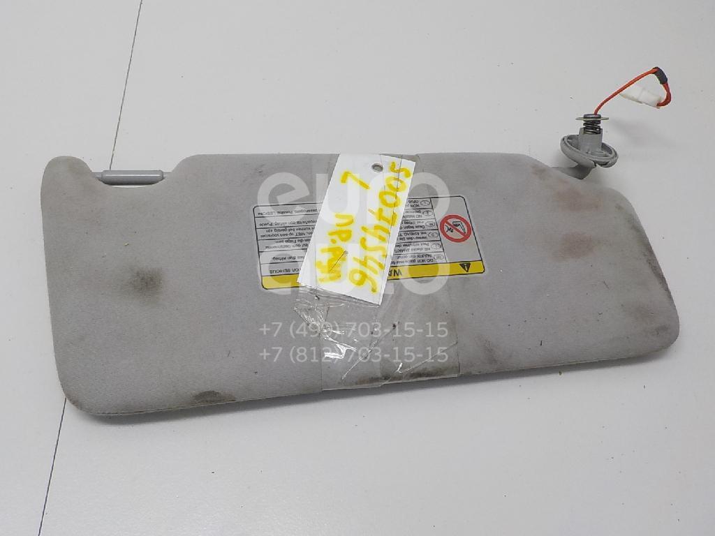 Козырек солнцезащитный (внутри) для Lexus RX 300/330/350/400h 2003-2009 - Фото №1
