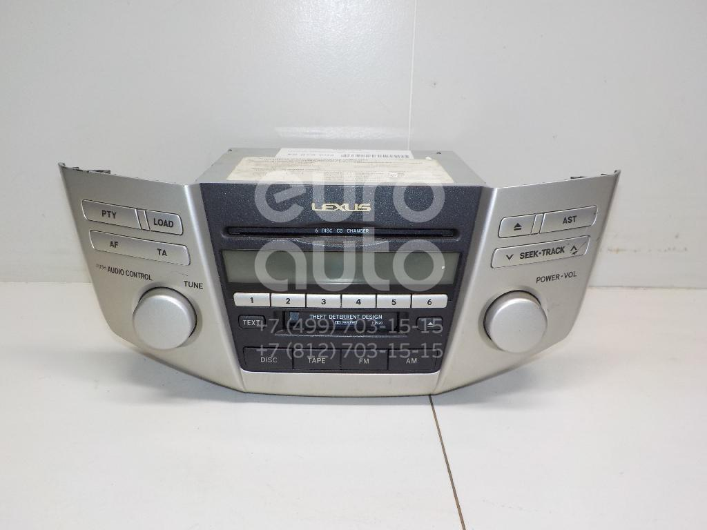 Магнитола для Lexus RX 300/330/350/400h 2003-2009 - Фото №1