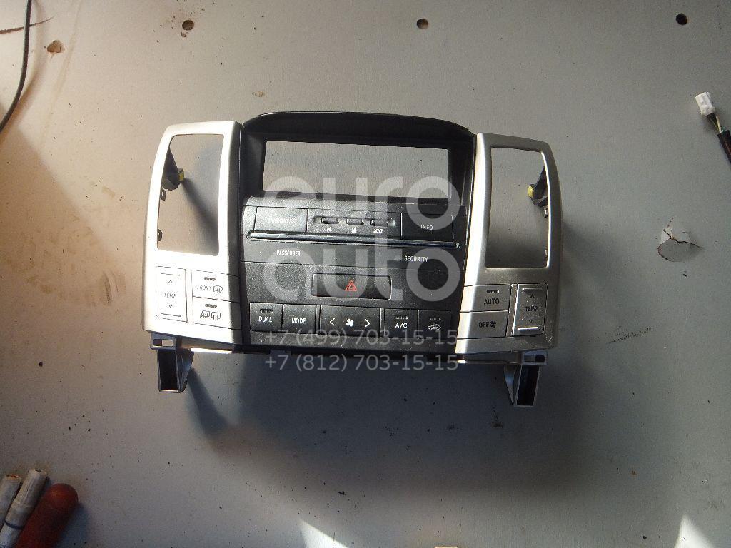 Блок управления климатической установкой для Lexus RX 300/330/350/400h 2003-2009 - Фото №1