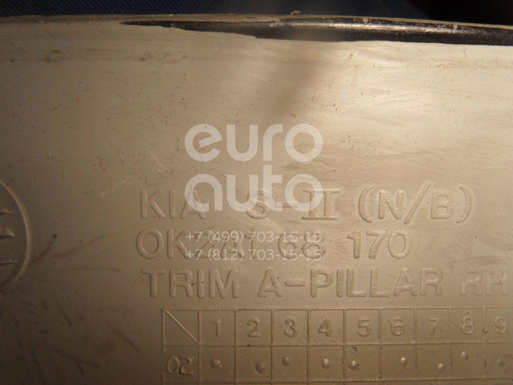 Обшивка стойки для Kia Spectra 2001-2011;Sephia/Shuma 1996-2001;Sephia II/Shuma II 2001-2004 - Фото №1