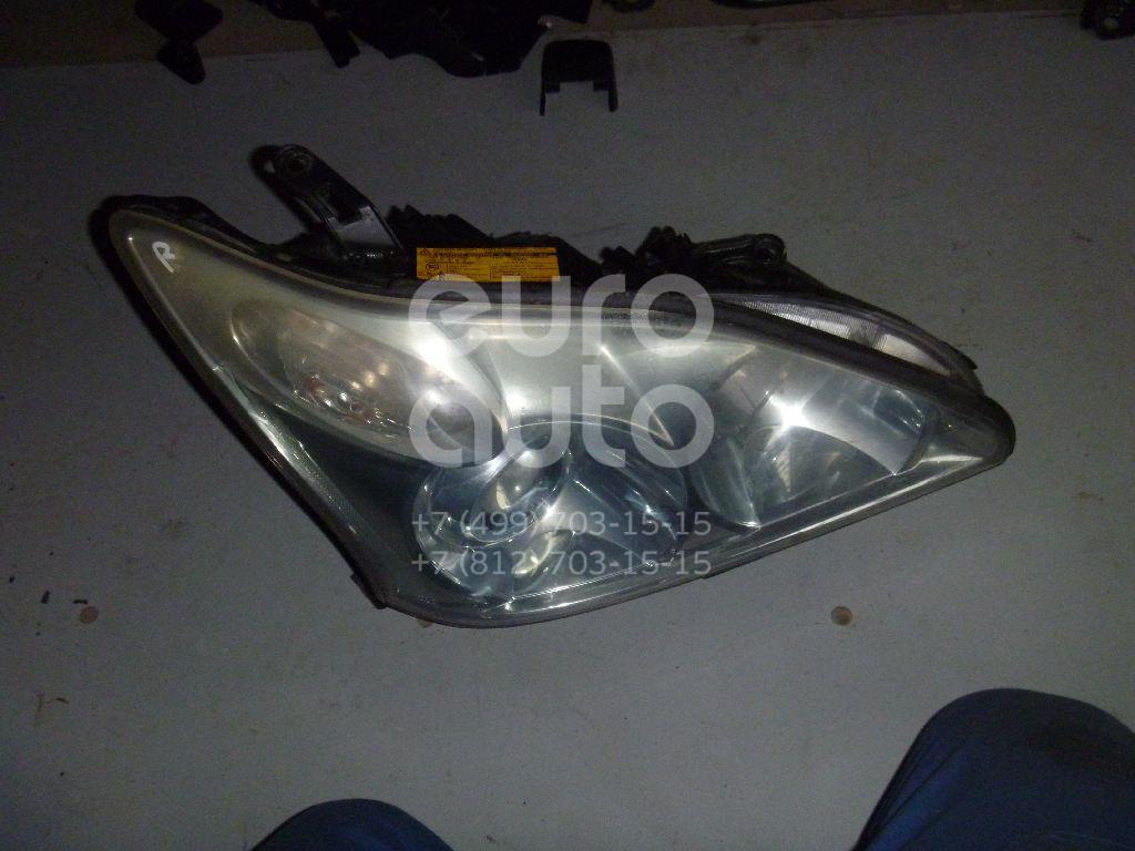 Фара правая для Lexus RX 300/330/350/400h 2003-2009 - Фото №1