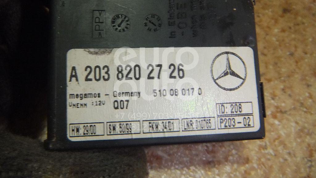 Блок электронный для Mercedes Benz W203 2000-2006;W140 1991-1999;W202 1993-2000;W220 1998-2005;W210 E-Klasse 1995-2000;C208 CLK coupe 1997-2002;G-Class W463 1989>;W215 coupe 1999-2006;R230 SL 2001-2012;W219 CLS 2004-2010 - Фото №1