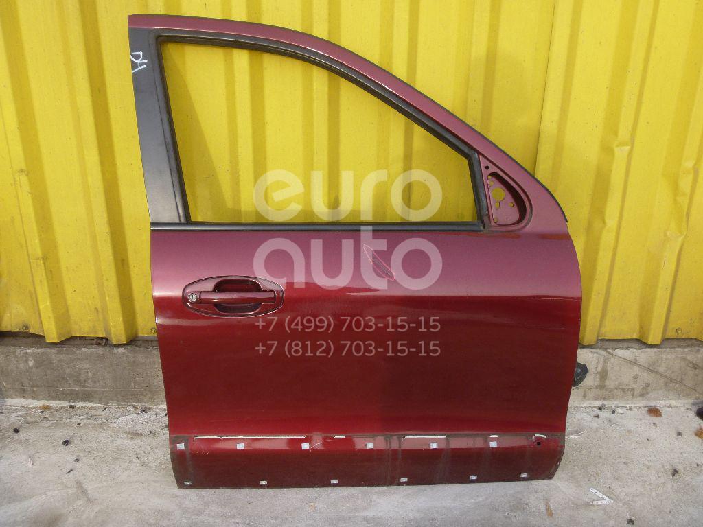 Дверь передняя правая для Hyundai Santa Fe (SM) 2000-2005 - Фото №1