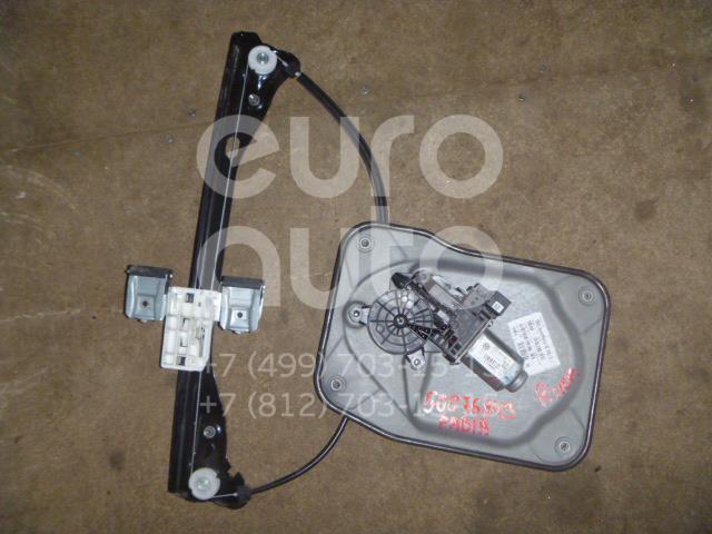 Стеклоподъемник электр. передний правый для Skoda Fabia 2007-2015 - Фото №1