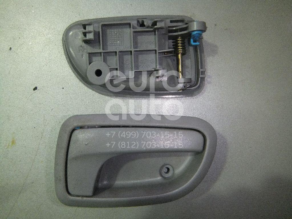 Ручка двери внутренняя правая для Kia Picanto 2004-2011 - Фото №1