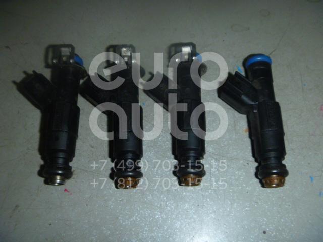 Форсунка инжекторная электрическая для Volvo C30 2006>;Focus II 2005-2008;Fusion 2002>;C-MAX 2003-2011;Mondeo III 2000-2007;Mazda 5 (CR) 2005-2010;MPV II (LW) 1999-2006;323 (BJ) 1998-2002;Mazda 6 (GG) 2002-2007;Mazda 3 (BK) 2002-2009;S40 2004> - Фото №1