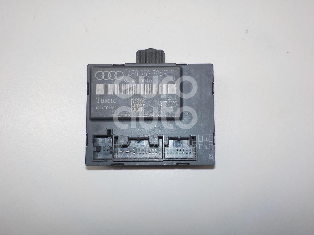 Блок комфорта для Audi A6 [C6,4F] 2005-2011;Allroad quattro 2006-2012 - Фото №1