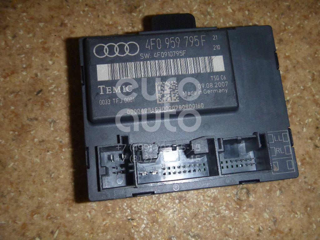 Блок комфорта для Audi A6 [C6,4F] 2004-2011;Q7 [4L] 2005-2015;Allroad quattro 2006-2012 - Фото №1
