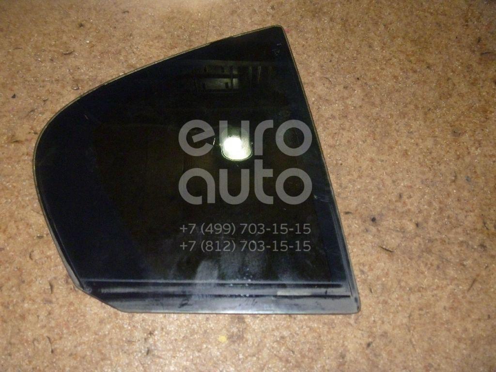 Стекло двери задней правой (форточка) для BMW 3-серия E90/E91 2005-2012 - Фото №1